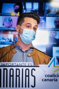 """CC reclama a Torres que sea """"inflexible"""" con Madrid y exija más vacunas para las Islas"""
