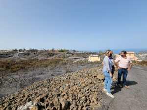 El Gobierno canario convoca las ayudas para los afectados por el incendio de agosto en La Palma