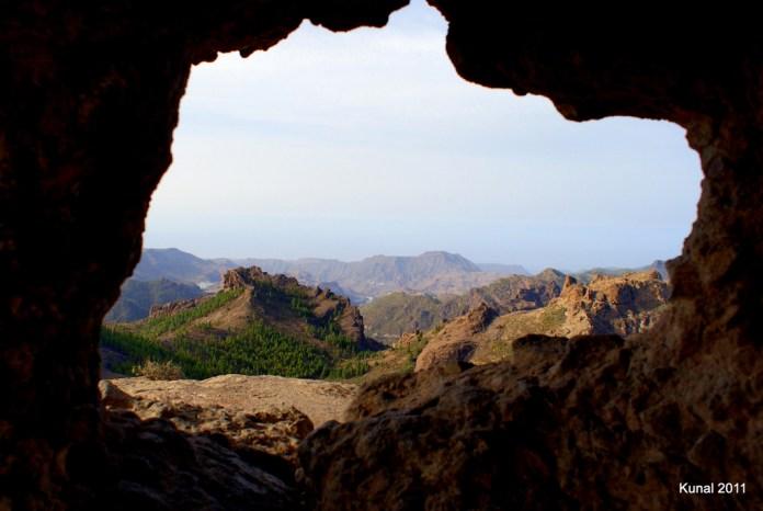 Ventana Roque Nublo