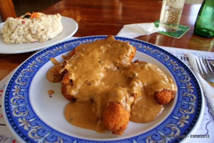 Balcon Canario - Pechuga de Pollo con Salsa Pimienta