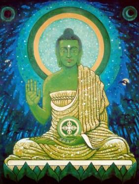 Cinco Budas Dhyani - Amoghasiddhi