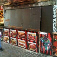 Camden Market - Burger Place