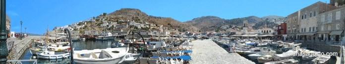 puerto hidra isla grecia