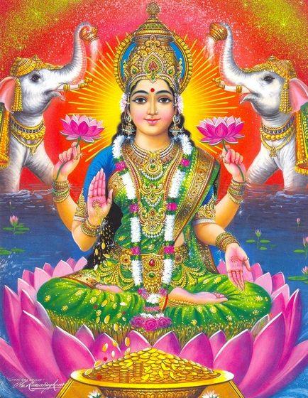 Lakshmi - Diosa de la fortuna