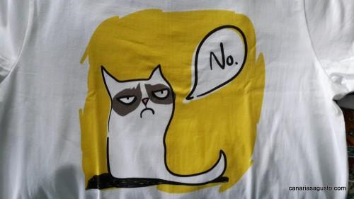 Camiseta Gato No