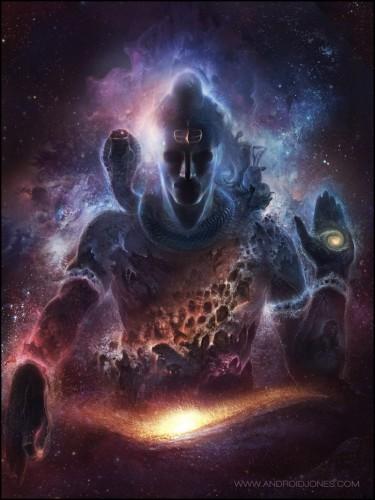 Shiva y el espacio