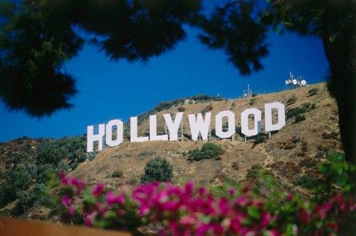 El cartel de Hollywood, California - USA
