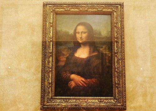 La Mona Lisa, Museo del Louvre - Paris