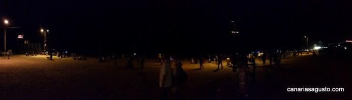 Panorama Juhu Beach - Mumbai de Noche