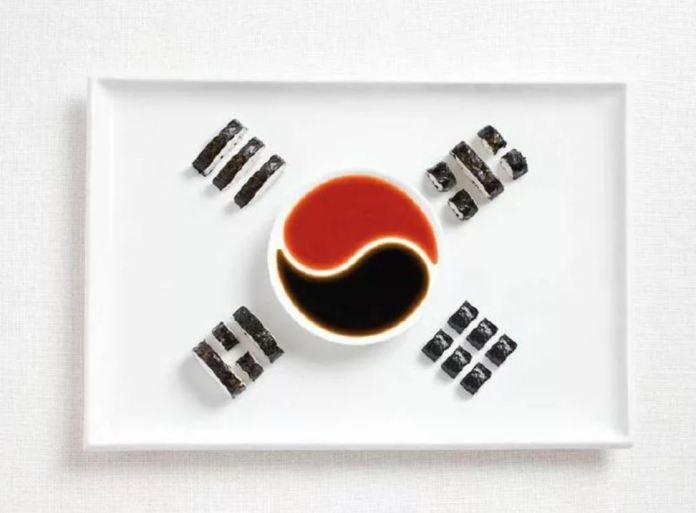 Bandera Corea Sur - Kimpab y Salsas