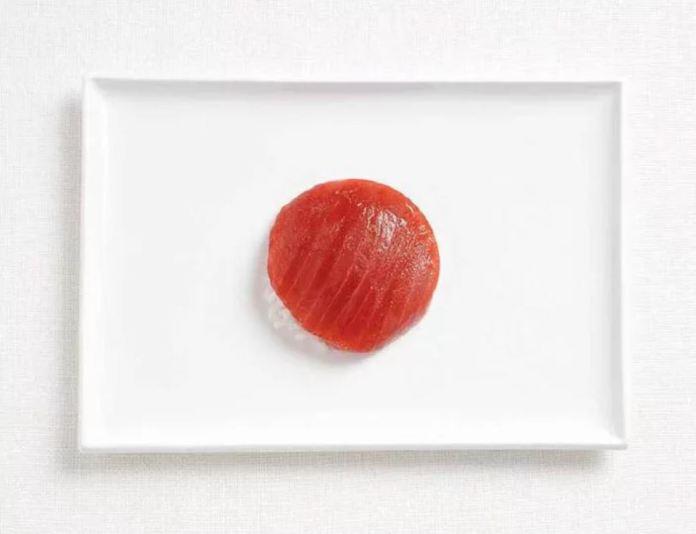 Bandera Japon - Tuna y Arroz
