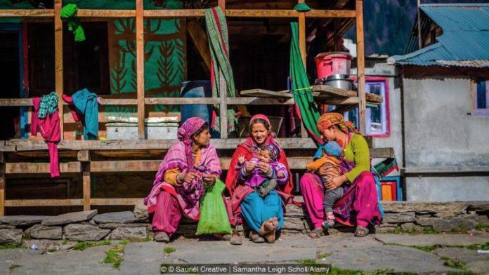 Residentes de Malana