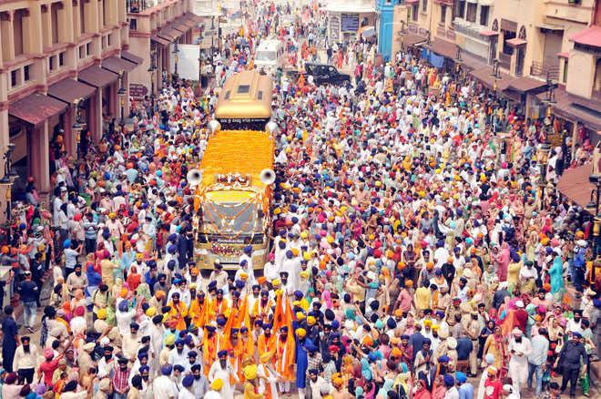 Nagar Kirtan en Vaisakhi