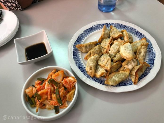 Mandu en Kim's Pojangmacha