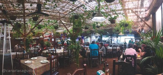 Zona delantera restaurante el cordero