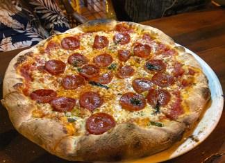 Pepperoni Pizza VIP Pizza Puerto Rico