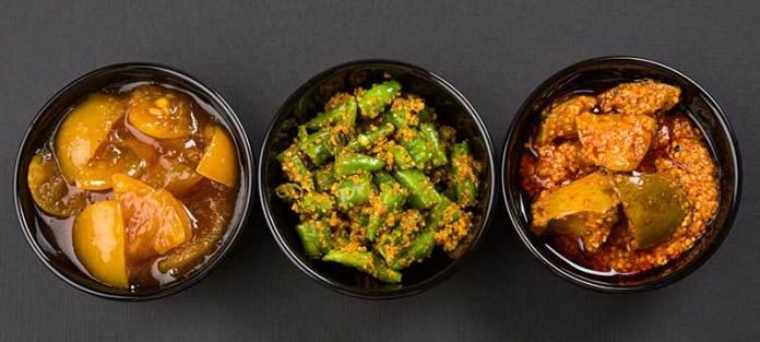 achaar encurtidos comida india