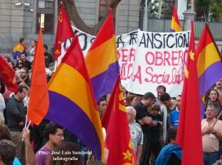 piden la III república en Las palmas de Gran Canaria_