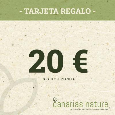 Tarjeta Regalo de 20 Euros
