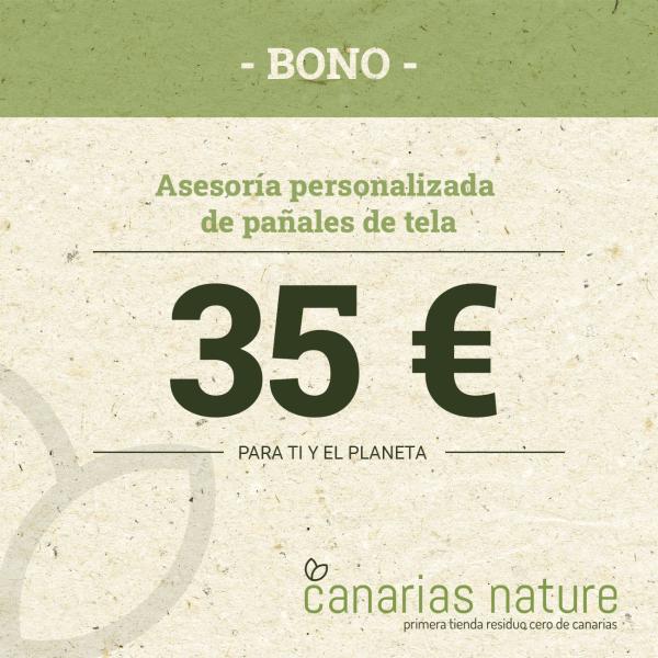 Bono Pañales de tela 35 Euros