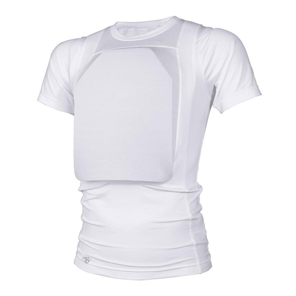 white t-shirt vest