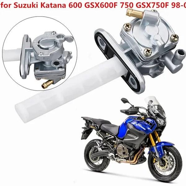 motorcycle fule gas tank petcock switch valve for suzuki katana 600 gsx600f 750 gsx750f 98 06 wish
