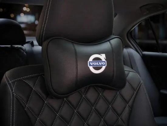 2pcs upscale super breathable volvo car headrest car neck pillow wish