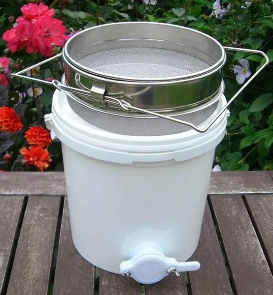 20l passoire a miel filtre acier inox seau equipements de l apiculture tamis wish