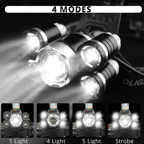 Flashlight, campinglamp, Head, waterproofheadlamp