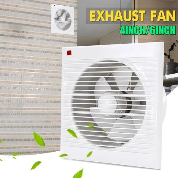 4 6 8 inch 20w exhaust fan bathroom kitchen toilets mute ventilation fans low noise air vent exhaust ventilator fan wish