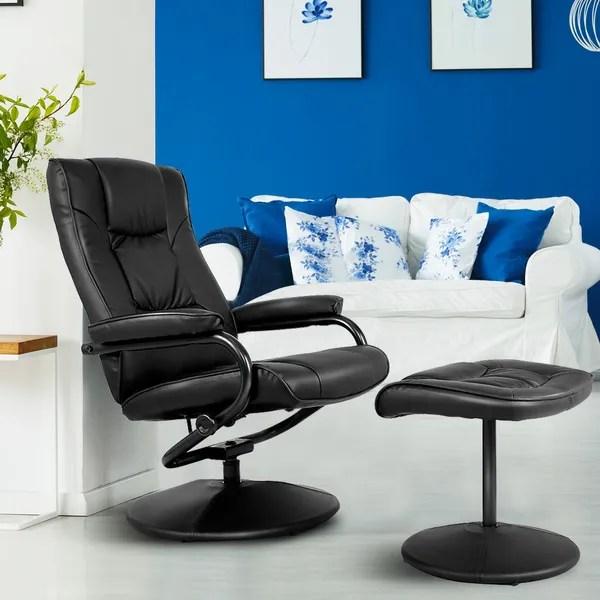 fauteuil relax inclinable avec repose pieds siege de salon chaise de bureau wish