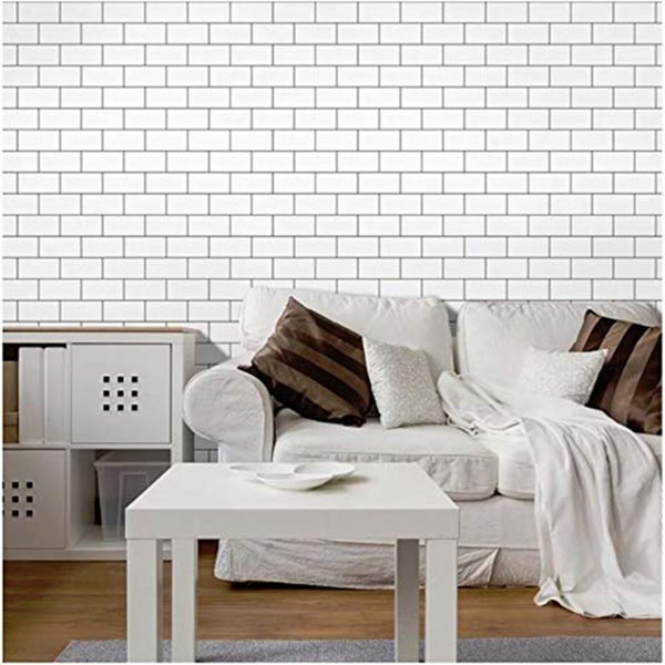 art3d premium anti mold peel and stick backsplash tiles 25cm x25cm white subway tile kitchen backsplash peel and stick tile wish