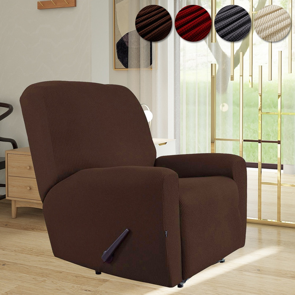 fashion soft elastic one seater sofa recliner cover stretch recliner slipcovers recliner stretch sofa slipcover wish