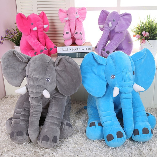 soft plush toy pillow cute baby elephant toy baby toy child doll elephant stuffed animals multiple colors elephant kids sleeping pillow baby toy