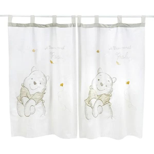 gray winnie the pooh 2 curtains wish