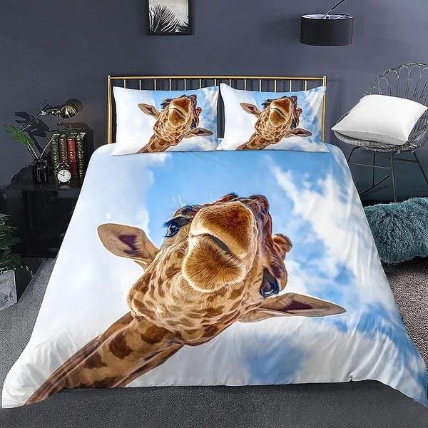 new 3d bedding giraffe bedding queen giraffe bedding sets bedding king size comforter set giraffe bedding queen duvet cover set animal bedding 3d