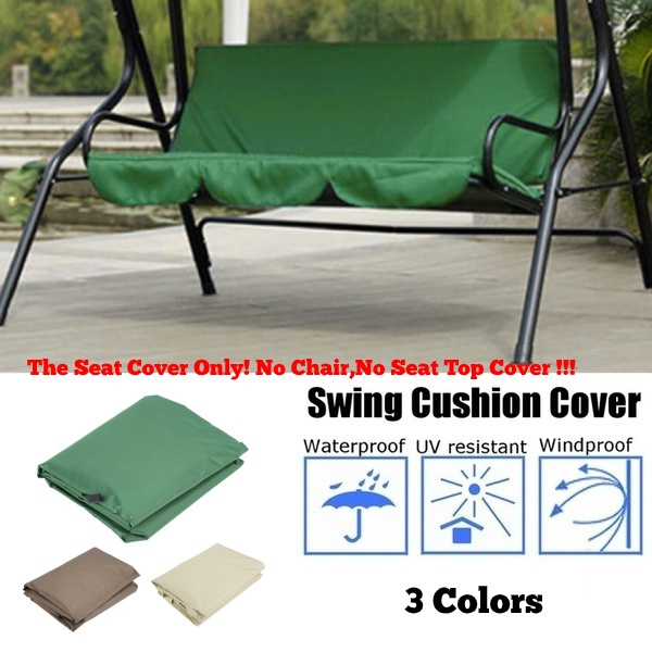 courtyard garden swing hammock 3 seat cover waterproof fabric protection cover replacement canopy swings patio furniture cushions cover wish