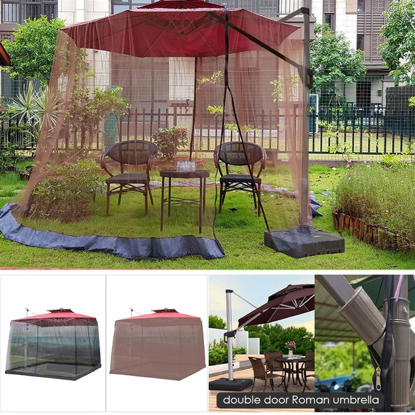 outdoor mosquito net patio umbrella mosquito netting screen uv resistant mosquito netting gazebo style mosquito netting for outdoor yard camping