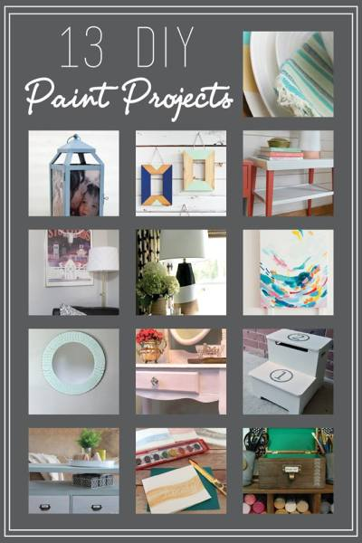#MonthyDIYChallenge.  This month's challenge theme is paint!  canarystreetcrafts.com