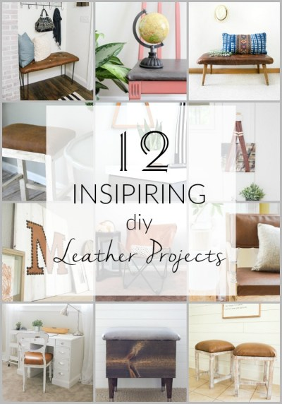 12 Inspiring DIY Projects Using Leather