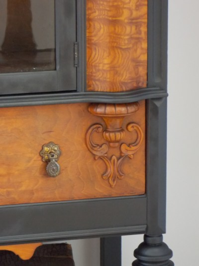 1920s-china-hutch-makeover {The Curator's Collection}