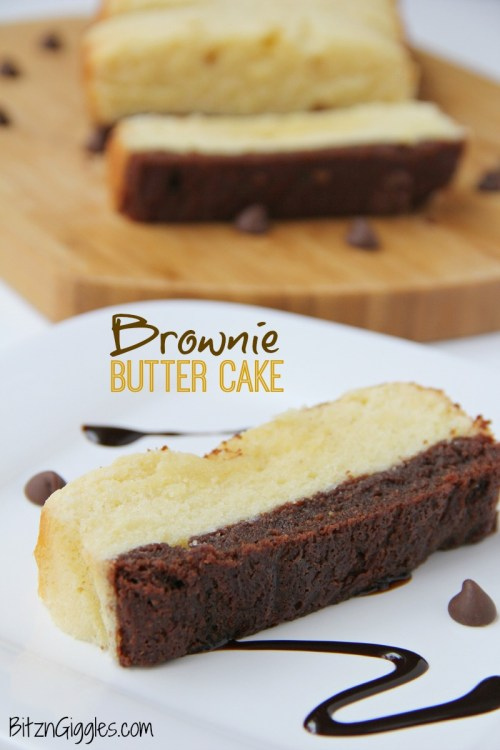 Brownie-Butter-Cake {Bitz & Giggles}