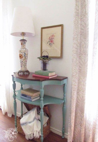 Console Table Makeover from Pocketful Of Posies