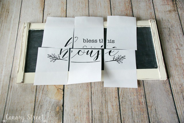 Easy step by step instructions for creating gorgeous chalkboard lettering. https://canarystreetcrafts.com/