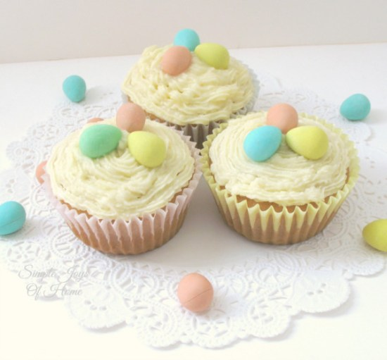 Mini-Eggs-Easter-Cupcakes from Simple Joys Of Home