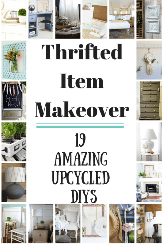 Lots of ideas for using thrifted items to create your own unique home decor. Painted metal tiles. Using thrift store items to create your own unique and inexpensive home decor. https://canarystreetcrafts.com/