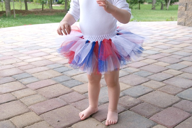 How to make a tutu with tulle no sew