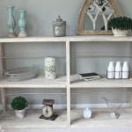 Diy Rustic Shelf Canary Street Crafts