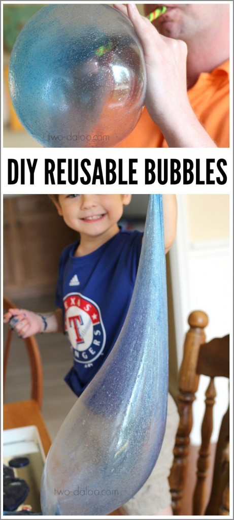 Giant reusable bubbles from two-daloo.com