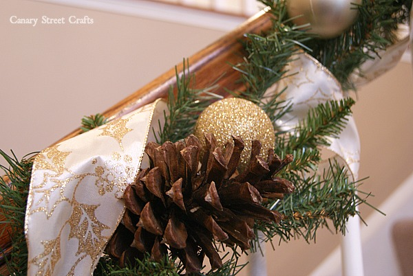 how to make your own inexpensive christmas garland canary street crafts
